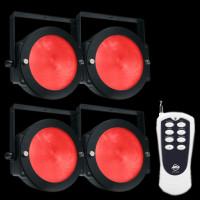 ADJ Dotz Par Pak TRI LED Par Can Lighting Package w/ Remote