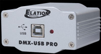 Elation DMX-USB PRO USB to DMX Trigger Interface