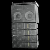 Omnisistem Beta 3 Powered Line Array Loudspeakers / Subwoofer