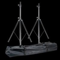 American Audio ACCU STAND Speaker Stands w/ Carry Bag