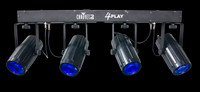 Chauvet DJ 4PLAY Quad LED  Moonflowers Par Can System
