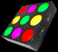 Chauvet DJ CORE 3X3 Pixel-mapping LED Wash Light Panel