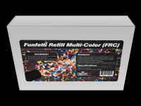 Chauvet DJ Funfetti Shot Refill / Multi-colored