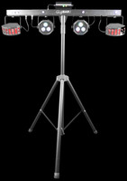 Chauvet DJ Gig Bar 2 Pack-n-go 4-in-1 Lighting System