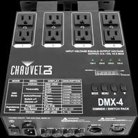 Chauvet DJ DMX-4  / 4-channel Dimmer / Relay Pack