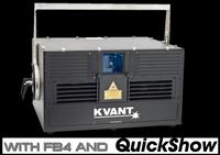 KVANT ATOM 9 HPS 8.5W RGB Laser Projector w/ FB4-MAX / QuickShow