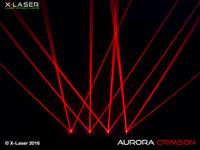 X-Laser Aurora Crimson Red Laser Beam Liquid Sky Laser