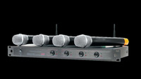 American Audio WU-419V 4-channel UHF Wireless Microphone System