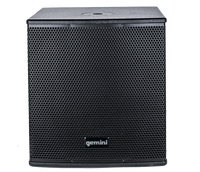 Gemini ZRX-S15P – 15-Inch Professional Powered Subwoofer