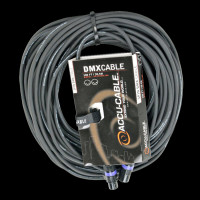 Accu Cable 100 FT 3 Pin M/F DMX Cable / AC3PDMX100