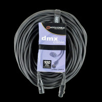 Accu Cable 100 Ft DMX Cable - 5-pin Male to 5-pin Female / AC5PDMX100