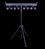 Blizzard Lighting Weather System EXA RGBAW+UV LED Par Can Tree