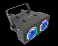 Blizzard Lighting LOOK Dual Beam LED DJ Light Fixture
