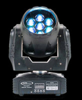 Eliminator Lighting Stealth Wash Zoom RGBW LED Wash Moving Head Light
