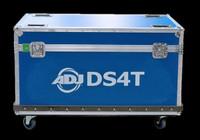 ADJ Flight Case for DS4T LED Quarter Circulars / 10 PCS / DS4QCFC10