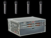 Airwave AT-HH4CH 4 Channel Wireless System Package w/ 4 Handhelds