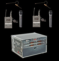 Airwave AT-Combo Pack 4 Channel Wireless System Package