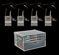 Airwave AT-HSD-4 Pack 4 Channel Wireless System Package