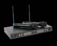 ADJ 2-channel UHF Wireless Microphone System  / WM-219