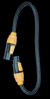ADJ True IP65 Power Link Cable - Male to Female
