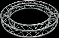 "Global Truss F34 12"" Square Truss Circle / 32.08ft. (10m)"
