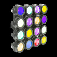 Elation CUEPIX 16IP RGB IP65 Indoor / 0utdoor LED Effect Light Panel