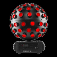 Chauvet DJ Rotosphere Q3 LED RGBW Mirror Ball Effect Light