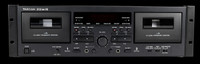 TASCAM 202MKVII Double Cassette Deck w/ USB Port