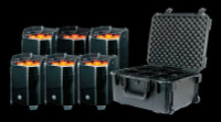 ADJ Element QA IP PC6 Pak / IP54 Battery Powered LED Par Can Package