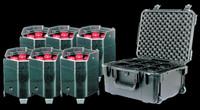 ADJ Element HEX PC6 Pak / Battery PWD LED Par Package w/ Wireless DMX