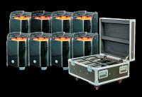 ADJ Element QA IP FC Pak IP54 Battery PWD LED Par Can Package / Wireless DMX
