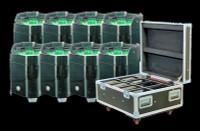 ADJ Element HEX IP FC Pak IP54 Battery Powered LED Par Can Lighting Package /  Wireless DMX