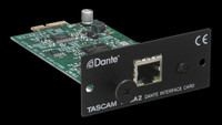 TASCAM IF-DA2 Dante Interface Card