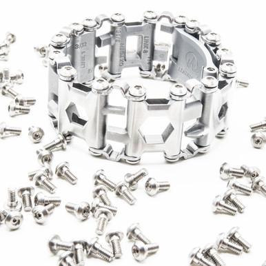 Comfort screws installed on a Leatherman Tread Multi-Tool