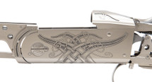 Krieghoff Celtic Scroll Nickel K-20 Receiver/Iron ONLY - 114270R