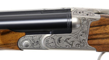 Krieghoff Safari Scroll Nickel w/ Elephant Classic Rifle - 112570