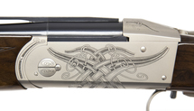 Krieghoff Celtic Scroll Nickel K-20 Parcours (LEFT) - 114267