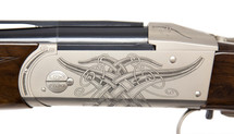 Krieghoff Celtic Scroll Nickel K-20 Receiver/Iron ONLY - 114267R