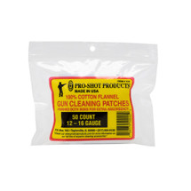 """Pro-Shot Cotton Flannel 3"""" Square Gun Cleaning Patches (50 count)"""