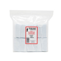"""Pro-Shot Cotton Flannel 3"""" Square Gun Cleaning Patches (500 count)"""