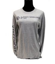 du Pont Krieghoff Men's Grey Long Sleeve Shirt