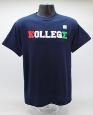 Kappa Sigma College KollegΣ Navy T-Shirt