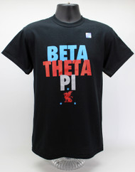 Beta Theta Pi Fraternity T-Shirt Black