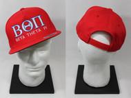 Beta Theta Pi Snapback Hat Red