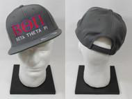 Beta Theta Pi Snapback Hat Grey