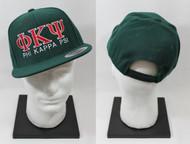 Phi Kappa Psi Snapback Hat Dark Green