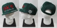 Phi Kappa Psi Snapback Hat Dark Green with Side Emblem