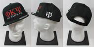 Phi Kappa Psi Snapback Hat Black with Side Emblem