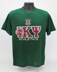 Phi Kappa Psi Dry Fit T-Shirt Green