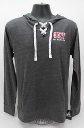 Phi Kappa Psi Long Sleeve Hooded T-Shirt -Front